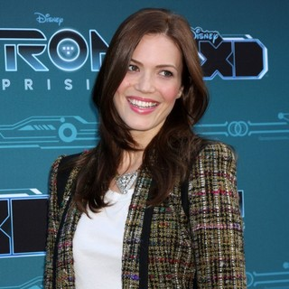 Mandy Moore in Disney XD's TRON: Uprising Press Event and Reception