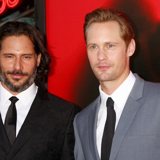 Joe Manganiello, Alexander Skarsgard in Premiere of HBO's True Blood Season 6 - Arrivals