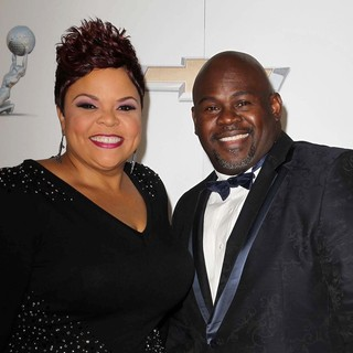 Tamela Mann, David Mann in The 44th NAACP Image Awards