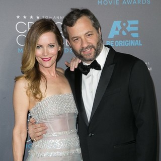 Leslie Mann, Judd Apatow in 20th Annual Critics' Choice Movie Awards - Arrivals
