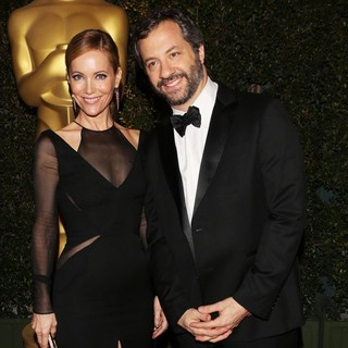 Leslie Mann, Judd Apatow in The Academy of Motion Pictures Arts and Sciences' 4th Annual Governors Awards - Arrivals