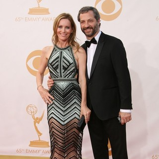 Leslie Mann, Judd Apatow in 65th Annual Primetime Emmy Awards - Arrivals