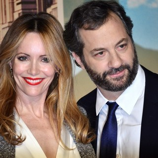 Leslie Mann, Judd Apatow in U.K. Premiere of Anchorman: The Legend Continues - Arrivals