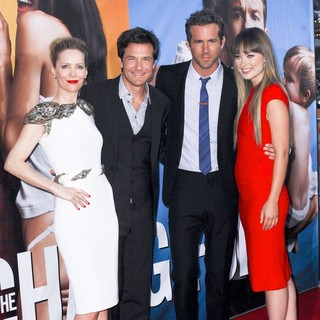 Leslie Mann, Jason Bateman, Ryan Reynolds, Olivia Wilde in The Change-Up Los Angeles Premiere