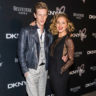 Gabriel Mann, Margarita Levieva in DKNY 25th Birthday Bash During Mercedes-Benz New York Fashion Week Spring-Summer 2014