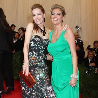 Leslie Mann, Kate Upton in PUNK: Chaos to Couture Costume Institute Gala