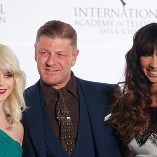 Taryn Manning, Sean Bean, Jackie Cruz in 41st International Emmy Awards