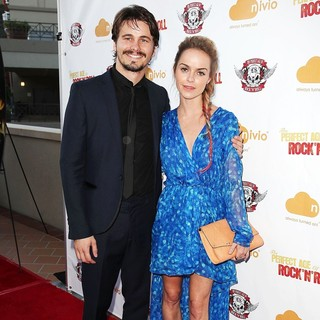 Jason Ritter, Taryn Manning in The Perfect Age of Rock 'n' Roll Los Angeles Premiere