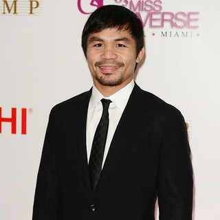 Manny Pacquiao in The 63rd Annual Miss Universe Pageant - Red Carpet Arrivals