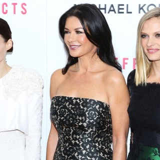 Rooney Mara, Catherine Zeta-Jones, Vinessa Shaw in New York Premiere of Side Effects