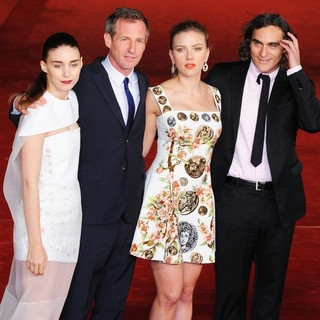 Rooney Mara, Spike Jonze, Scarlett Johansson, Joaquin Phoenix in The 8th Rome International Film Festival - Her - Premiere