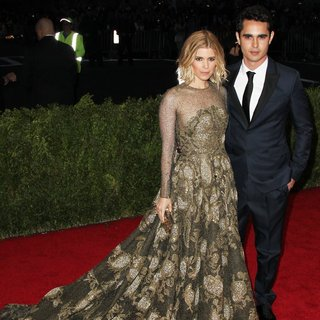 Kate Mara, Max Minghella in Charles James: Beyond Fashion Costume Institute Gala - Arrivals