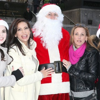 Vanessa Marano, Constance Marie, Katie Leclerc in ABC Family's 25 Days of Christmas Winter Wonderland Event