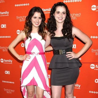 Laura Marano, Vanessa Marano in Switched at Birth Fall Premiere and Book Launch Party - Arrivals