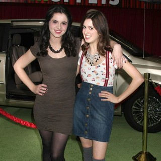 Vanessa Marano, Laura Marano in The Premiere of Walt Disney Pictures' The Muppets - Arrivals