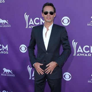 Marc Anthony in 2012 ACM Awards - Arrivals