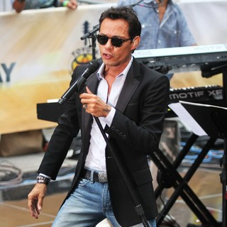 Marc Anthony in Marc Anthony Performs Live as Part of The Toyota Concert Series on NBC's Today