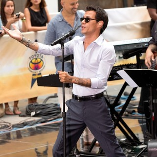 Marc Anthony - Marc Anthony Performs Live as Part of The Toyota Concert Series on NBC's Today