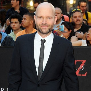 Marc Forster in New York Premiere of World War Z - Arrivals
