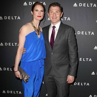 Stephanie March, Bobby Flay in Delta Air Lines Celebrate LA's Music Industry with Getty House Reception