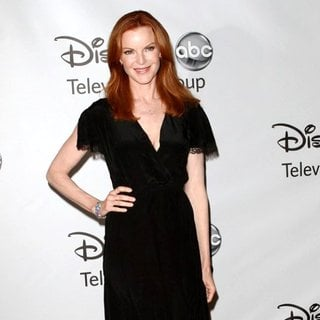 Marcia Cross in 2011 Disney ABC Television Group Host Summer Press Tour