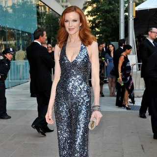 Marcia Cross in The 2011 CFDA Fashion Awards
