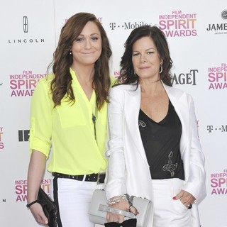 Marcia Gay Harden in 2013 Film Independent Spirit Awards - Arrivals
