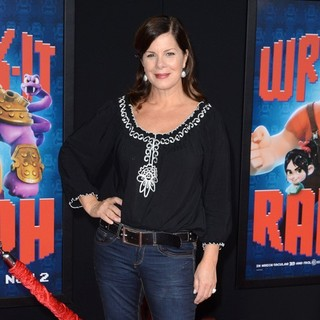 Marcia Gay Harden in The Los Angeles Premiere of Wreck-It Ralph - Arrivals