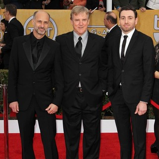 David Marciano, Jamey Sheridan, Hrach Titizian in 19th Annual Screen Actors Guild Awards - Arrivals