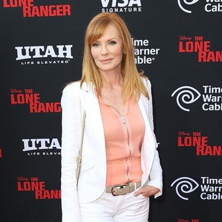 Marg Helgenberger in The World Premiere of Disney-Jerry Bruckheimer Films' The Lone Ranger