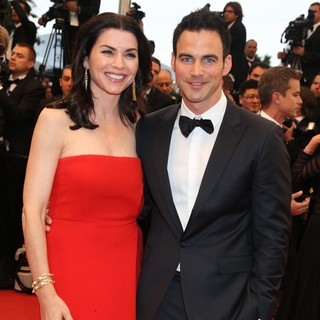 Julianna Margulies, Keith Lieberthal in Cosmopolis Premiere - During The 65th Annual Cannes Film Festival