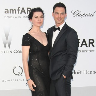 Julianna Margulies, Keith Lieberthal in AmfAR's Cinema Against AIDS Gala 2012 - During The 65th Annual Cannes Film Festival