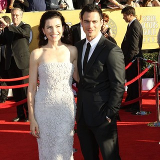 Julianna Margulies, Keith Lieberthal in The 18th Annual Screen Actors Guild Awards - Arrivals