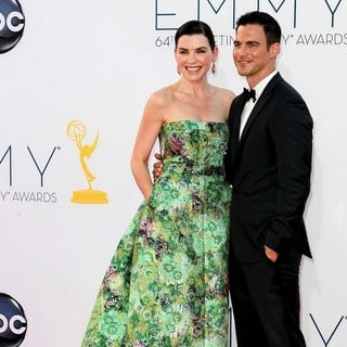 Julianna Margulies, Keith Lieberthal in 64th Annual Primetime Emmy Awards - Arrivals