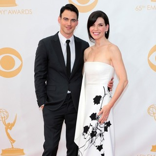 Keith Lieberthal, Julianna Margulies in 65th Annual Primetime Emmy Awards - Arrivals