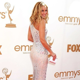 Maria Bello in The 63rd Primetime Emmy Awards - Arrivals