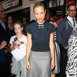 Maria Bello in Mariska Hargitay Honored on The Hollywood Walk of Fame