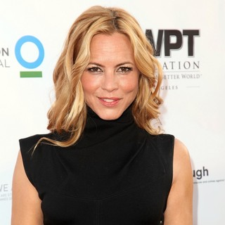 Maria Bello in WPT Playing for A Better World Charity Poker Tournament - Kick Off Party