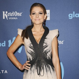 Maria Menounos in 24th Annual GLAAD Media Awards - Arrivals - maria-menounos-24th-annual-glaad-media-awards-02