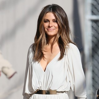 Maria Menounos Arriving for Jimmy Kimmel Live!