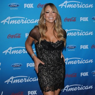 Mariah Carey in FOX's American Idol Finalists Party