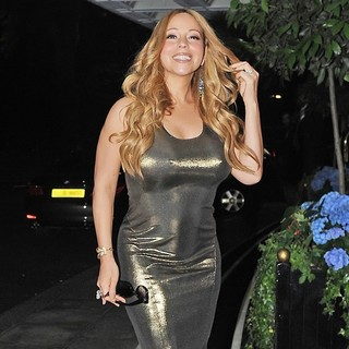 Mariah Carey in Mariah Carey at The Dorchester Hotel