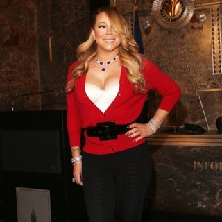 Mariah Carey Flips The Switch at The Empire State Building