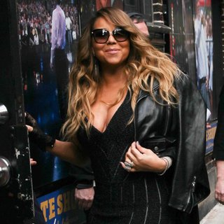 Mariah Carey - Mariah Carey Visits The Late Show with David Letterman