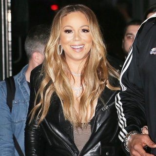 Mariah Carey Leaving The ABC Studios