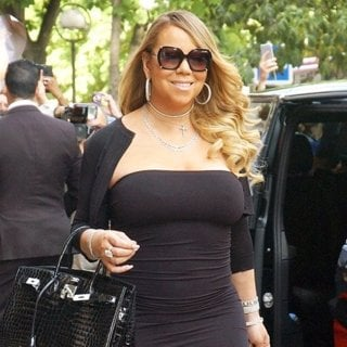 Mariah Carey Leaving The Plaza Athenee Hotel