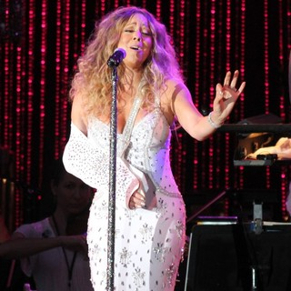 Mariah Carey in The Major League Baseball All-Star Charity Concert to Benefiting Sandy Relief