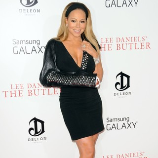 Mariah Carey in New York Premiere of Lee Daniels' The Butler - Red Carpet Arrivals