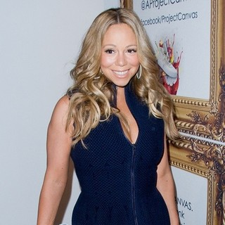 Mariah Carey in Project Canvas Art Gala - Arrivals