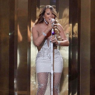 Mariah Carey in The 2013 BET Awards - Inside
